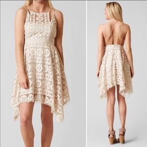 "Ivory ""Just Like Honey"" Lace Dress by FreePeople ✨"